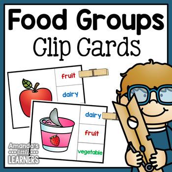 MyPlate Clip Cards
