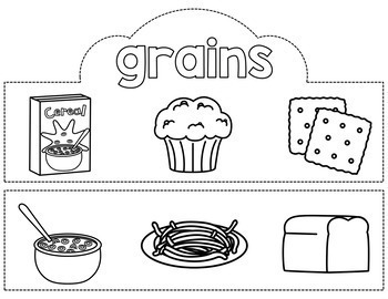 MyPlate Food Group Crowns