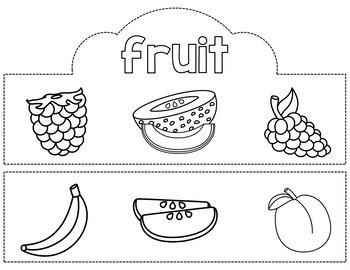 Food Group Crowns - MyPlate