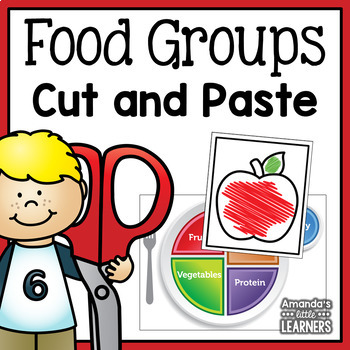 MyPlate Cut and Paste Craft