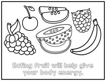 food group coloring pages - photo#21