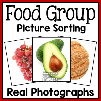 Food Group Picture Sort - MyPlate