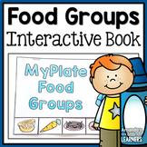 Food Groups Mini Book - MyPlate