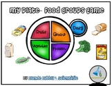 MyPlate- Nutrition & Food Group Game