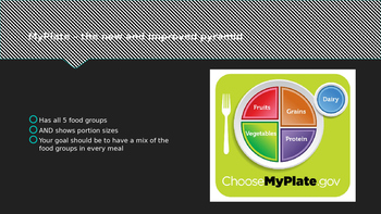 MyPlate PowerPoint