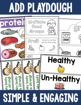 Nutrition Activity Bundle - MyPlate Food Groups