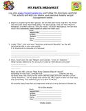 MyPlate Webquest