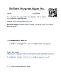 MyPlate Webquest/ Hyperdoc