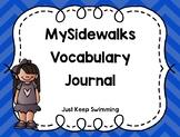 MySidewalks Vocabulary Journal
