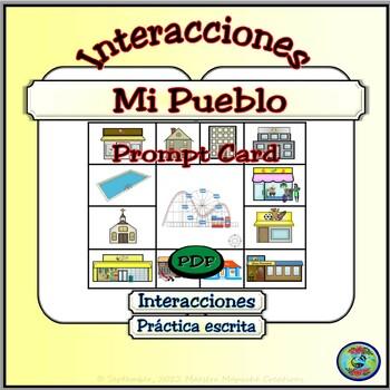 My Town; Simple Questions and Responses - Mi Pueblo; Preguntas y Respuestas