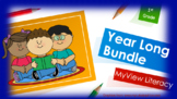 My View Literacy: Pearson Year Long Powerpoint Bundle for