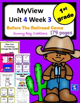 MyView Literacy Unit 4 Week 3 First Grade