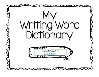 MyWritingDictionary