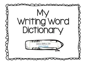 MyWritingDictionary