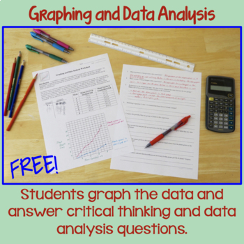Graphing and Data Analysis: A Scientific Method Activity | Distance Learning