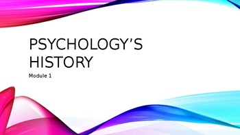 Myers AP Psychology Module 1 PowerPoint - Psychology's History