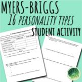 Myers-Briggs Personality Type Indicator Activity Sheet (MBTI)