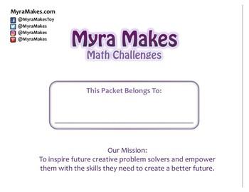Myra Makes Math Activities