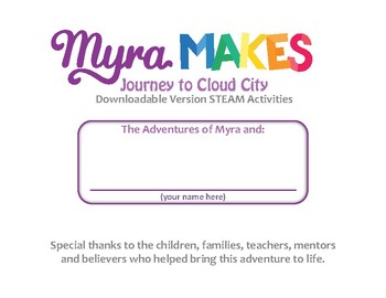 Myra Makes Spatial Visualization Activities
