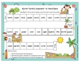 Myrtle Turtle's Consonant + le Word Game Literacy Station RF.1.3, RF.2.3