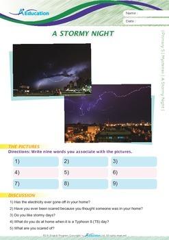 Mysteries - A Stormy Night - Grade 5