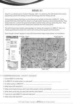 Mysteries - Area 51 - Grade 5