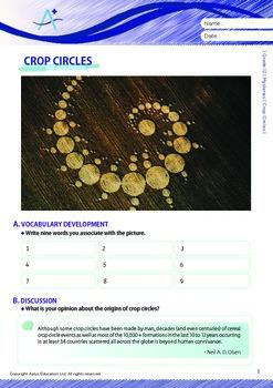 Mysteries - Crop Circles - Grade 12