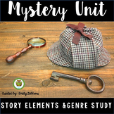 Mystery Unit Activities Graphic Organizers Writing and Rea