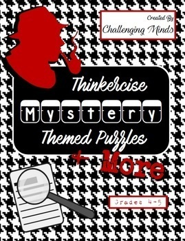 Mysteries & More Thinkercise Puzzles for Problem Solving