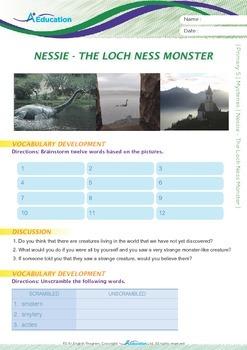 Mysteries - Nessie: The Loch Ness Monster - Grade 5