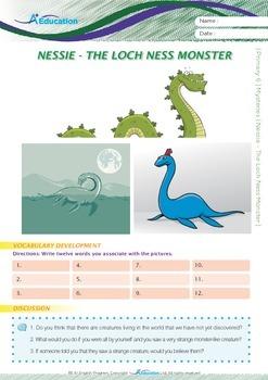 Mysteries - Nessie: The Loch Ness Monster - Grade 6