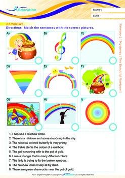 Mysteries - The Beautiful Rainbow - Grade 2