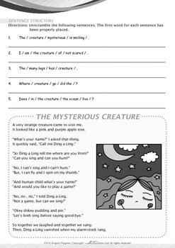 Mysteries - The Mysterious Creature - Grade 4