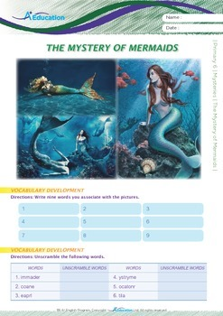 Mysteries - The Mystery of Mermaids - Grade 6
