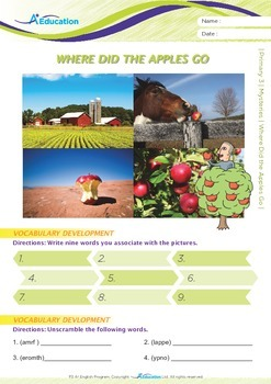 Mysteries - Where Did the Apples Go? - Grade 3