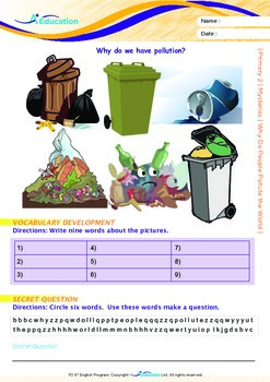 Mysteries - Why Do People Pollute the World? (I) - Grade 2
