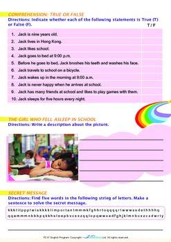 Mysteries - Why Do We Sleep (II) - Grade 2