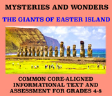 Mysteries and Wonders Passage and Assessment #19: The Giants of Easter Island