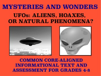 Mysteries and Wonders Passage and Assessment #23: What Are UFOs?