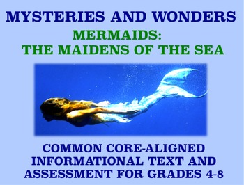 Mysteries and Wonders Passage and Assessment #24: Mermaids