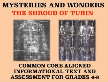 Mysteries and Wonders Passage and Assessment #28: The Shroud of Turin