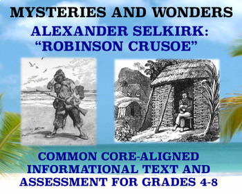 Mysteries and Wonders Passage and Assessment #34: Robinson Crusoe
