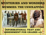 Mysteries and Wonders Passage and Assessment #37: Mummies: The Unwrapping