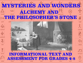 Mysteries and Wonders Passage and Assessment #39: Alchemy (Philosopher's Stone)