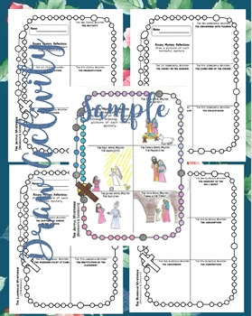 Mysteries of the Holy Rosary (Draw)
