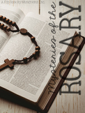Mysteries of the Rosary {A Flip Book}