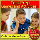 Making Inferences Activities AND Test Prep Game Shows - Collaborative Learning