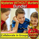 Mysteries without Murders: 15 Mystery Units Close Reading End of Year Activities
