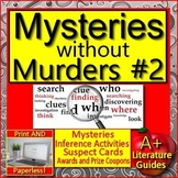 Mysteries without Murders #2: Reading Mystery Unit - Ready to Solve Workshops