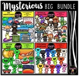 Mysterious Clip Art Big Bundle {Educlips Clipart}